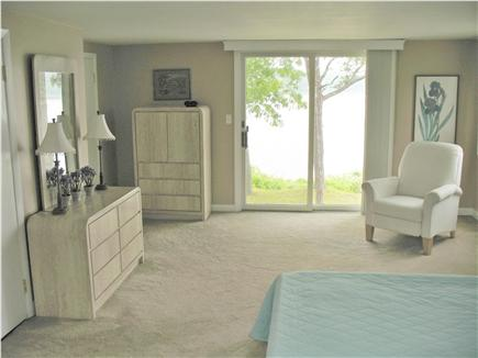 Mashpee Cape Cod vacation rental - Back Bedroom Slider opens to the ocean below
