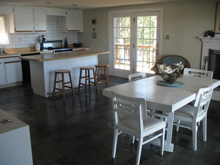 Mashpee Cape Cod vacation rental - Dining area off of kitchen.