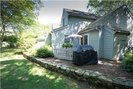 New Seabury, Mashpee New Seabury vacation rental - Rear Patio with BBQ grill