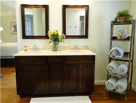 Barnstable Cape Cod vacation rental - Spacious master bath with shower, adjacent to walk-in closet