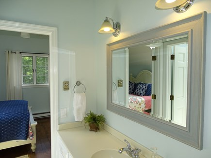 Barnstable Cape Cod vacation rental - Upstairs full bath, shared between both bedrooms