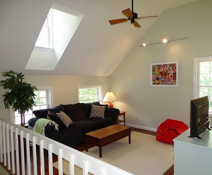 Barnstable Cape Cod vacation rental - 2nd floor loft with pull out queen sleeper sofa