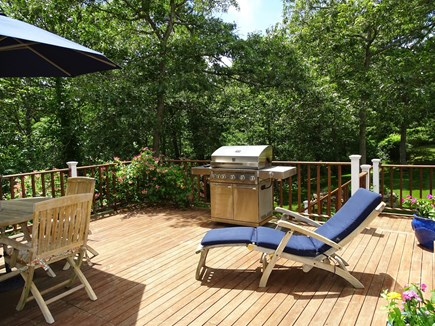 Barnstable Cape Cod vacation rental - Another beautiful place to sit and relax - deck with grill