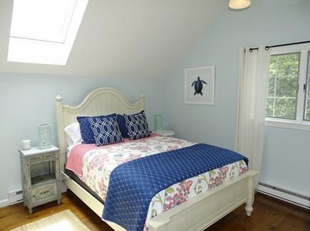 Barnstable Cape Cod vacation rental - Upstairs queen bedroom with skylight