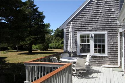 East Orleans Cape Cod vacation rental - Deck seating