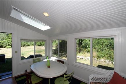 East Orleans Cape Cod vacation rental - Charming sunroom off dining area to enjoy a cup of coffee