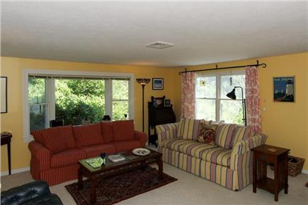 East Orleans Cape Cod vacation rental - Additional living space in new addition with sleeper sofa