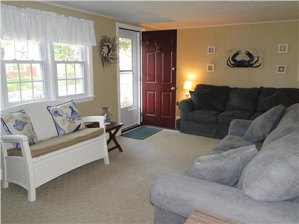 South Dennis Cape Cod vacation rental - Plenty of sitting room in living room, leads to kitchen