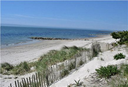 South Yarmouth Cape Cod vacation rental - 500 foot  private white sandy beach on Nantucket Sound