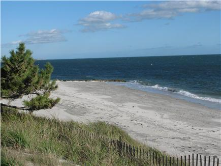 South Yarmouth Cape Cod vacation rental - Expansive beach view looking East