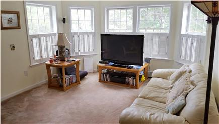 Wellfleet Cape Cod vacation rental - LIving room with large flat screen TV