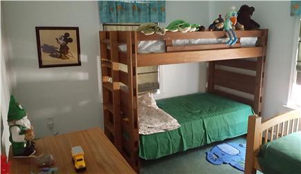 Wellfleet Cape Cod vacation rental - Bunk bed room - great for kids!