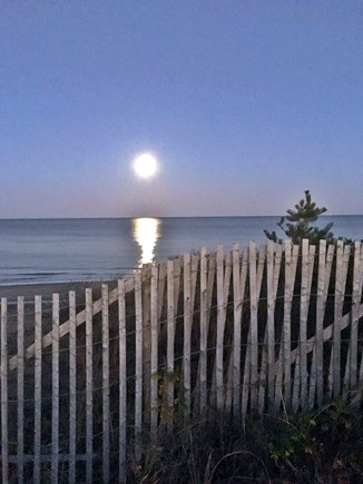 Eastham Cape Cod vacation rental - Super Moon at Nauset Light Beach