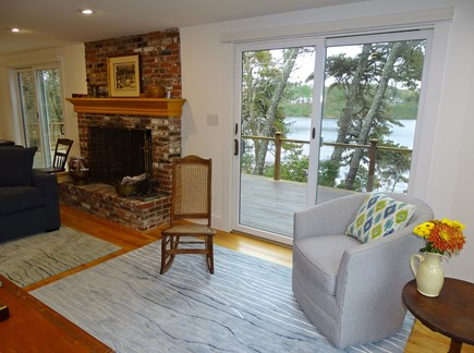 East Harwich Cape Cod vacation rental - Vast water views from the great room, dining and kitchen areas