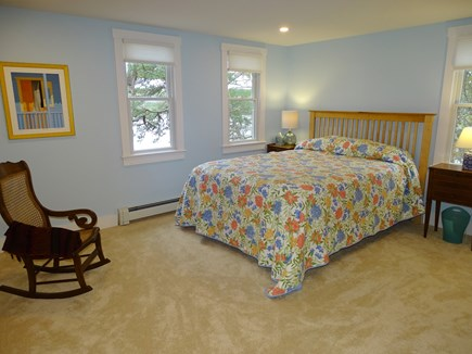 East Harwich Cape Cod vacation rental - Upstairs master bedroom with pond views