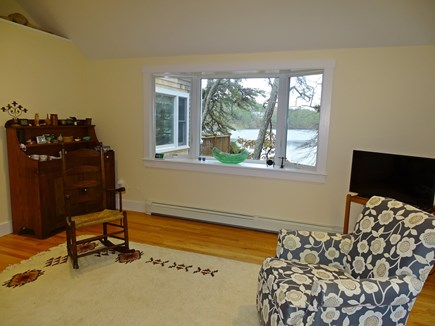 East Harwich Cape Cod vacation rental - Family room with more water views
