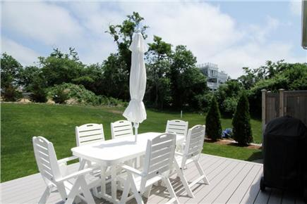 Brewster Cape Cod vacation rental - Fabulous deck for outdoor dining or sunbathing