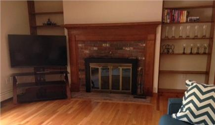 West Falmouth Village Cape Cod vacation rental - Living room 50in. HDTV, Comcast Xfinity Triple Play. Wireless.