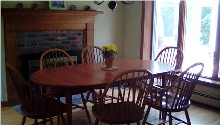 West Falmouth Village Cape Cod vacation rental - Newly remodeled kitchen. Table seats 8 with leaf.