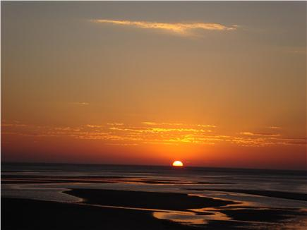 Brewster Cape Cod vacation rental - Glorious sunsets over Cape Cod Bay from every room in the house.