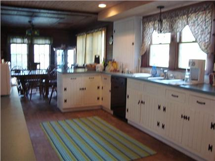 Brewster Cape Cod vacation rental - View of main kitchen and dining room