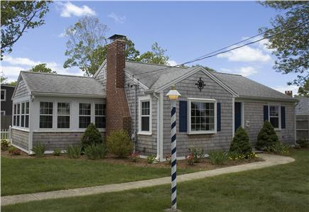Falmouth Heights Cape Cod vacation rental - Falmouth Heights Cottage is classic Cape Cod – with central AC!