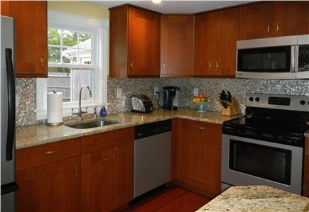 Falmouth Heights Cape Cod vacation rental - All-new kitchen has modern finishes and appliances