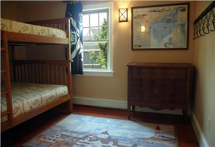 "Falmouth Heights Cape Cod vacation rental - Rustic, pirate style ""Crew's Nest"" with Double-over-Double bunks"