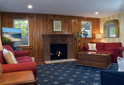 Falmouth Heights Cape Cod vacation rental - Enjoy WiFi and smart TV with cable, DVD's, books, puzzles, games