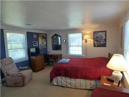 Chatham Cape Cod vacation rental - Master Bedroom, with door out to patio, and full bath