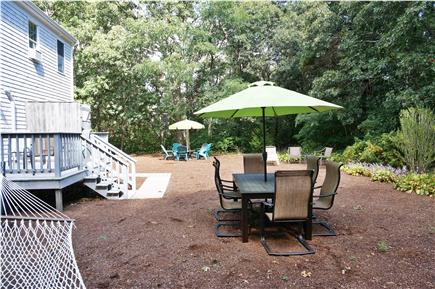 Eastham Cape Cod vacation rental - Outdoor dining area seats six