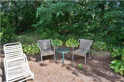 Eastham Cape Cod vacation rental - Shady area