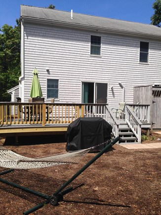 Eastham Cape Cod vacation rental - Private backyard, deck, hammock and outdoor shower