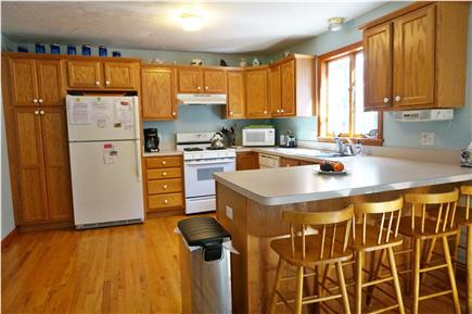 Eastham Cape Cod vacation rental - Fully equipped kitchen with seating for four