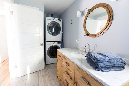 Provincetown Cape Cod vacation rental - Guest Bedroom Washer Dryer