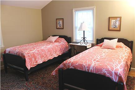 Brewster, Sea Pines Cape Cod vacation rental - Downstairs bedroom with private bath, in quiet area of house.