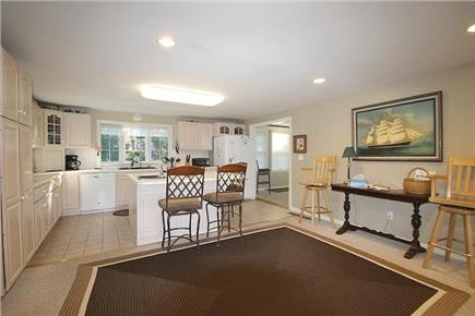 Brewster, Sea Pines Cape Cod vacation rental - A large, spacious kitchen, with lots of room to move around.