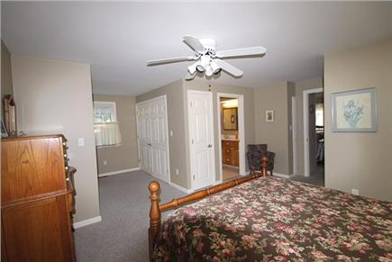 Brewster, Sea Pines Cape Cod vacation rental - First floor MB just off the kitchen with private bathroom.