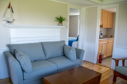 North Truro Cape Cod vacation rental - Comfortable Living Room with Full size sleep sofa
