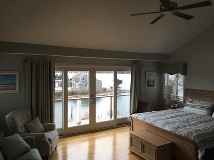 West Yarmouth Cape Cod vacation rental - Master Suite 3rd Floor - Water Views with sitting area and deck