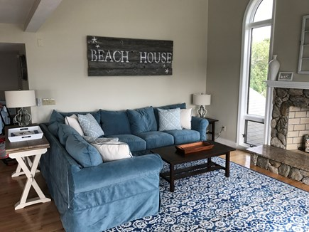 West Yarmouth Cape Cod vacation rental - Living Room Area