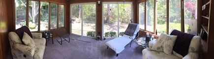S Harwich Cape Cod vacation rental - Sunny 3 Season porch