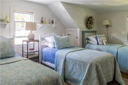 Chatham Cape Cod vacation rental - Upstairs bedroom with 3 twin sized beds