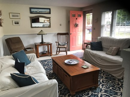 Dennis Cape Cod vacation rental - Sunny & comfortable Living Room with DirectTV.