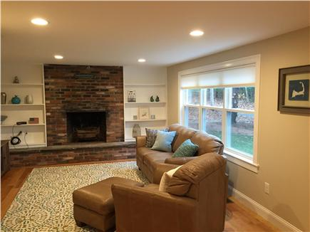 Centerville Centerville vacation rental - Living room with HDTV, cable, fireplace
