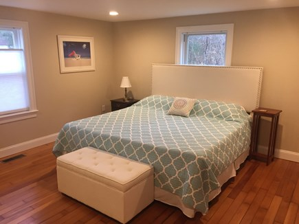 Centerville Centerville vacation rental - Master Bedroom - Downstairs with King Bed.