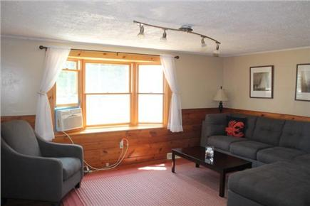 Eastham Cape Cod vacation rental - Comfortable living room with A/C unit