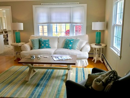 Osterville Osterville vacation rental - Spacious Living Room with HDTV and fireplace.