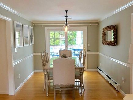 Osterville Osterville vacation rental - Sunfilled Dining Room opens to back deck.