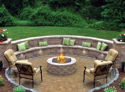 Osterville Osterville vacation rental - Fenced in yard w/stone patio/firepit/shower. Photo is from specs.